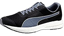 Puma Mens Nrgy Black and Folkstone Gray Running Shoes - 10 UK/India (44.5 EU)