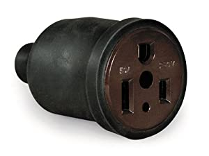 Hobart 770204 Receptacle,Pin Type Portable 50-Amp 230-Volts