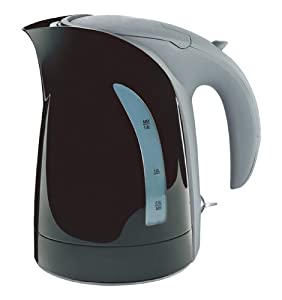 10 Cup 1.8 Liter Black Milano Cordless Electric Kettle by ZUCCOR (BOIL-DRY PROTECTED U.K.... by ZUCCOR