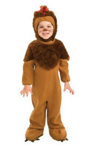 Rubie'S The Wizard Of Oz Cowardly Lion Costume (Toddlers) Style: 885821 TD-BROWN-TD2 Size: TD2-4 image