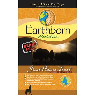 Earthborn Holistic Great Plains Feast Grain-Free Dry Dog Food, 28-Pound Bag