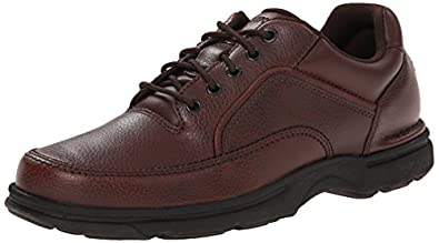 Rockport Men's Eureka Walking Shoe,Brown ,6.5 W US