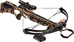 Barnett Wildcat C5 Crossbow Package (Quiver, 3-20-Inch Arrows and 4x32mm Scope) by Barnett Crossbows