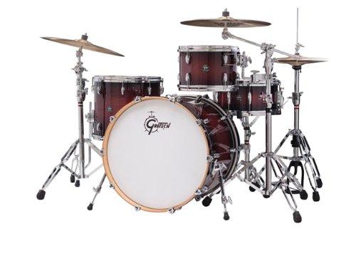 Gretsch New Renown Maple 3-Piece Euro Drum Set Shell Pack - Cherry Burst