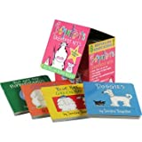 img - for Boynton's Greatest Hits Complete Eight Book Board Book Set [Moo, Baa, La La La!, A to Z, Opposites, But Not the Hippopotamus, Doggies, Blue Hat Green Hat, The Going to Bed Book, and Horns to Toes] book / textbook / text book