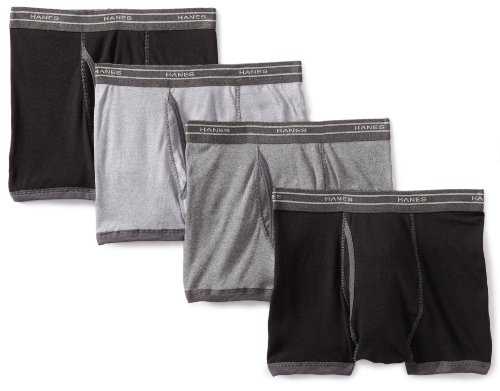 Hanes 4 Pack Boxer Brief Short Leg Bb Trunk Multi Color Assorted Small man panties