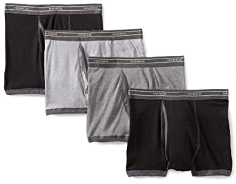 Hanes Men's 4 Pack Boxer Brief Short Leg Bb Trunk, Multi Color Assorted, Small
