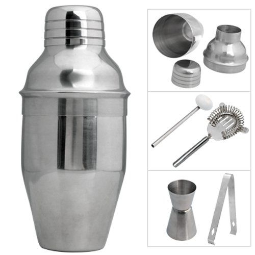 Stainless Steel Cocktail Shaker Jigger Mixer