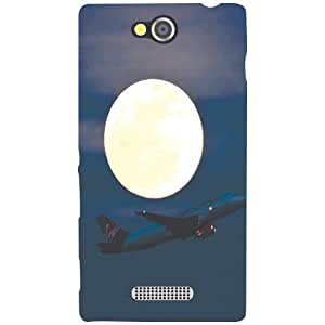 Sony Xperia C Back Cover - Fly Away Designer Cases