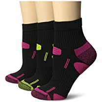 Dr. Scholl's Women's White Health Strides Tri-Zone Ankle