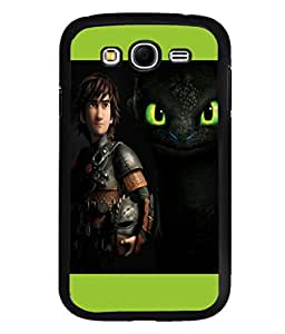 printtech Disney Dragon Back Case Cover for Samsung Galaxy Grand Neo Plus::Samsung Galaxy Grand Neo Plus i9060i