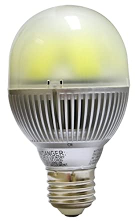 Benchmark by Viribright LED 8W A19 A Lamp Standard Medium Base Dimmable (40W Replacement) Cool White 4000K 600 Lumens