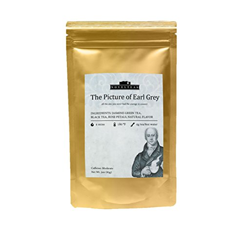 Witty Novel Teas Tea Gift. Loose Leaf Tea That Matches Classic Novels Titles. Earl Grey Tea Bag - The Picture of Earl Grey. Inspired by The Picture of Dorian Gray, Oscar Wilde. 3 oz, 85g. (Cs Lewis Quote Mug compare prices)