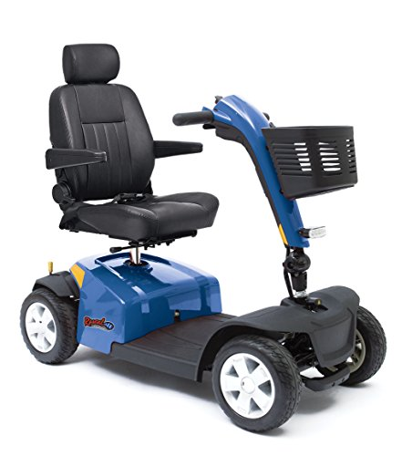 Rascal 10 Four Wheel Mobility Scooter - Blue