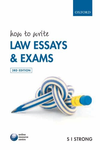 law exam essay Most law school exams are in essay and multiple choice format a legal writing course teaches you the exam methods and strategies for both testing formats, which you are not typically taught in class.