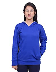 Snoby Blue Hoody Jacket (SBY11026)