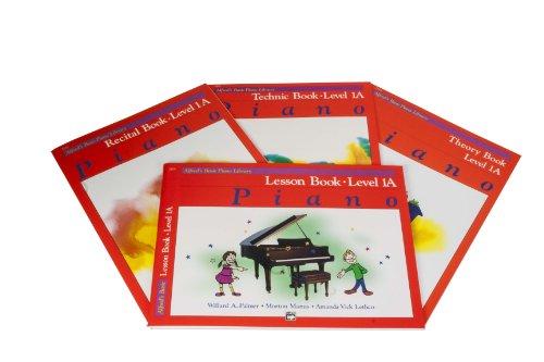 Imagen de Alfred Basic Piano Library Course Level Pack 1A - Libros lección, Teoría, Técnica y considerando