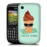Head Case Cool Ice Cream Food Mood Back Case For BlackBerry Curve 8520 9300 3G