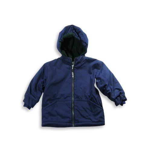 Cherry Tree - Toddler Boys Kangaroo Pocket Jacket, Navy, Hunter Green (Size 3T)