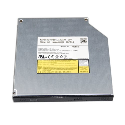 Panasonic New Sata Rewriteable Cd And 8X Dvd +/- Rw Read/Write Cd Dvd Drive Burner For Most Laptop Notebooks