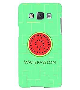 Printvisa Lite Watermelon Backcover For Samsung E5 (Red)