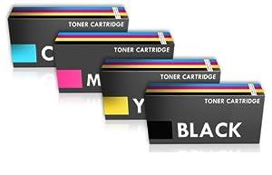 Prestige Cartridge TN-241/TN-245 Toner Cartridge for Brother HL-3140CW/HL-3150CDW/HL-3170CDW - Assorted Colour (Pack of 4)