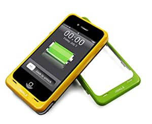 iWalk Rechargeable Power Case for iPhone 4s with 5 Colored Faceplates