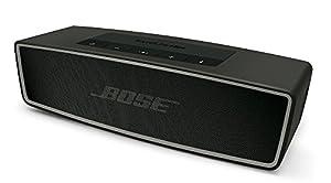 Bose SoundLink Mini II Bluetoothスピーカー ポータブル/ワイヤレス対応/通話可能 カーボン SLink Mini II CBN【国内正規品】