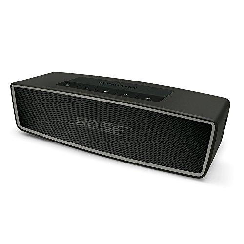 Bose SoundLink Mini II Bluetoothスピーカー ポータブル/ワイヤレス対応 カーボン SLink Mini II CBN【国内正規品】