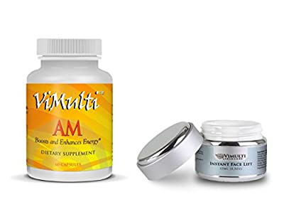 Vimulti AM Instant Face Lift & Fat Cutter Diet Pills Weight Loss Program and Facial Treatment. Best Fat Burner now with the Best Anti Aging Cream. Lift Your Fore Head while You LOSE WEIGHT FAST
