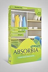 ABSORBIA Moisture Absorber & Closet Freshener Mountain Fresh