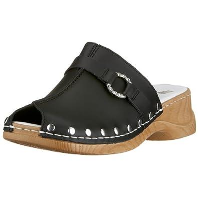 rieker leder clogs clog pantoletten pantolette gr42 schuhe handtaschen. Black Bedroom Furniture Sets. Home Design Ideas