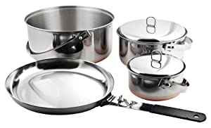 Chinook Ridgeline 6 Piece Stainless Camp Cookset by Chinook