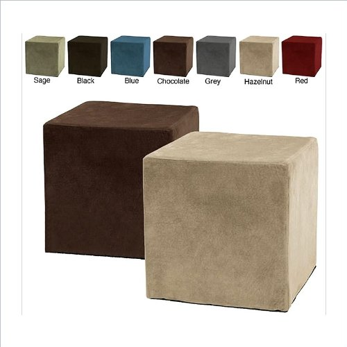 couchesusa ottomans comfort magic deluxe memory foam cube ottoman page