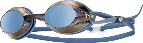 TYR Velocity - Occhialini Metallizzati - Blu Ghiaccio Metallizzato
