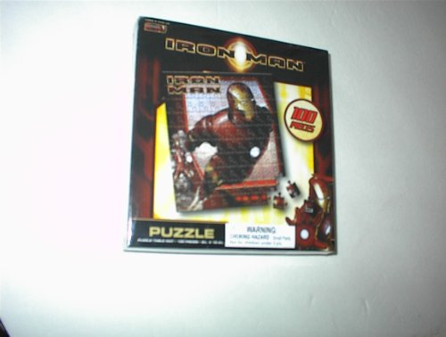 "Marvel IRON MAN 100~Pc. Jigsaw Puzzle~~9"" X 10.4""~~New & Sealed!!"