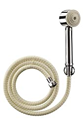 Cera CQ 441 Telephonic Hand Shower 55 mm (2) dia with Wall Hook and 1.5m Hose(suitable for Mist range)