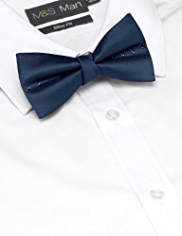 Autograph Pure Silk Bow Tie MADE WITH SWAROVSKI® ELEMENTS