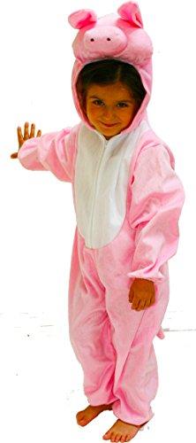 Fun Play Bambini costume maiale 5-7 anni