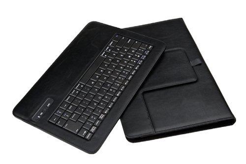Jenny DesseiPad Air 2 Bluetooth キーボード 良質PUレザーケース付き カバー ワイヤレスキーボード キーボード分離可能