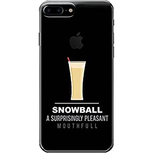 DailyObjects Snowball Clear Case For iPhone 7 Plus