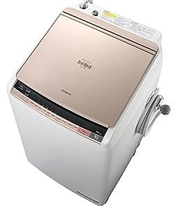 日立 9.0kg 洗濯乾燥機 シャンパンHITACHI ビートウォッシュ BW-DV90A-N