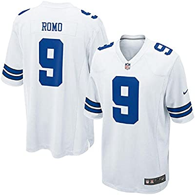Youth Tony Romo #9 White Jerseys