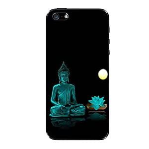 Vibhar printed case back cover for Apple iPhone 5s BlueBuddha