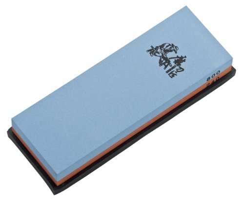 Magnum Whetstone 240/800 Knife Sharpening Stone, 2.3-Ounce, Blue