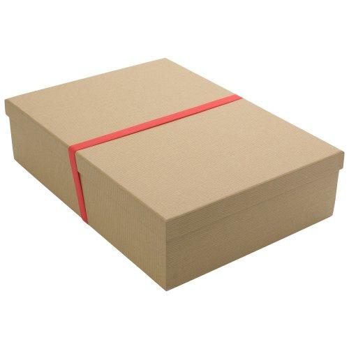 Paperchase recycled kraft shirt gift box
