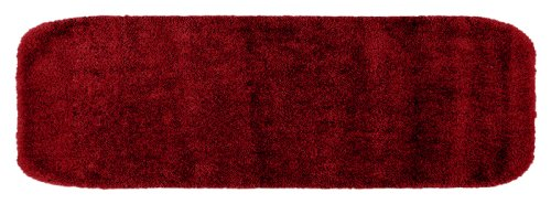 Garland Rug Traditional Plush Washable Nylon Rug, 22-Inch By 60-Inch, Chili Pepper Red front-770424