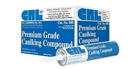 CRL Black/Bronze 888 Premium Grade Caulking Compound by CR Laurence