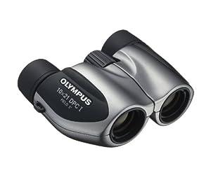 Olympus 10 x 21 DPC I Silver Binoculars