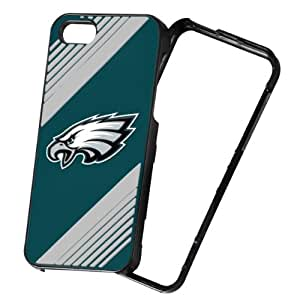 Forever Collectibles NFL 2-Piece Snap-On iPhone 5/5S Polycarbonate Case - Retail Packaging - Philadelphia Eagles